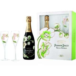 [ネット限定品] ペリエ ジュエ キュヴェ ベル エポック 2012 グラス2脚セットギフト箱入り 750ml【シャンパン】