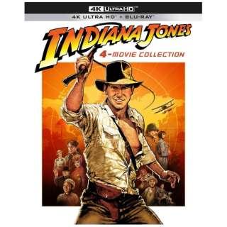 インディ・ジョーンズ 4ムービーコレクション 40th アニバーサリー・エディション 4K Ultra HD + ブルーレイ 【Ultra HD ブルーレイソフト】