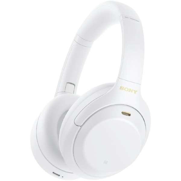 ブルートゥースヘッドホン ホワイト WH-1000XM4WM [マイク対応 /Bluetooth /ハイレゾ対応 /ノイズキャンセリング対応]