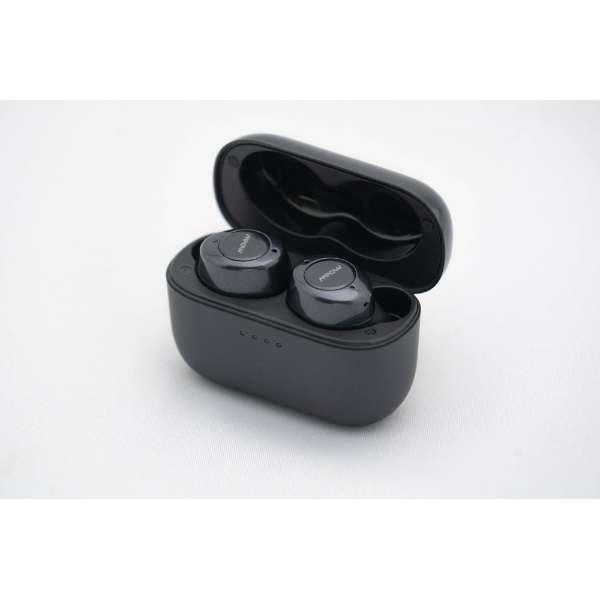 フルワイヤレスイヤホン ブラック M7ANC [リモコン・マイク対応 /ワイヤレス(左右分離) /Bluetooth /ノイズキャンセリング対応]