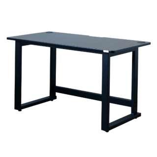 【コンティークス】グラウズゲーミングデスク(ブラック/幅120×奥行60×高さ70cm) 331321 【キャンセル・返品不可】