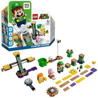 LEGO(レゴ) 71387 スーパーマリオ ルイージとぼうけんのはじまり ~ スターターセット 【発売日以降のお届け】