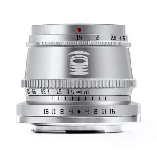 カメラレンズ 35mm f/1.4C X (S)(富士フイルムXマウント) シルバー