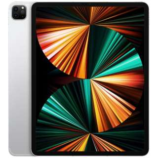 【SIMフリー】iPad Pro 12.9インチ(第5世代) Wi-Fi+Cellular 256GB MHR73J/A シルバー【2021年モデル】