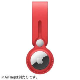 AirTag レザーループ (PRODUCT)RED MK0V3FE/A