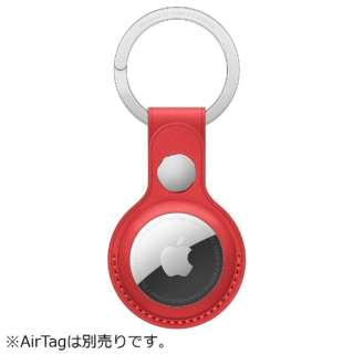 AirTag レザーキーリング (PRODUCT)RED MK103FE/A