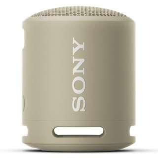 ブルートゥーススピーカー ベージュ SRS-XB13 CC [防水 /Bluetooth対応]