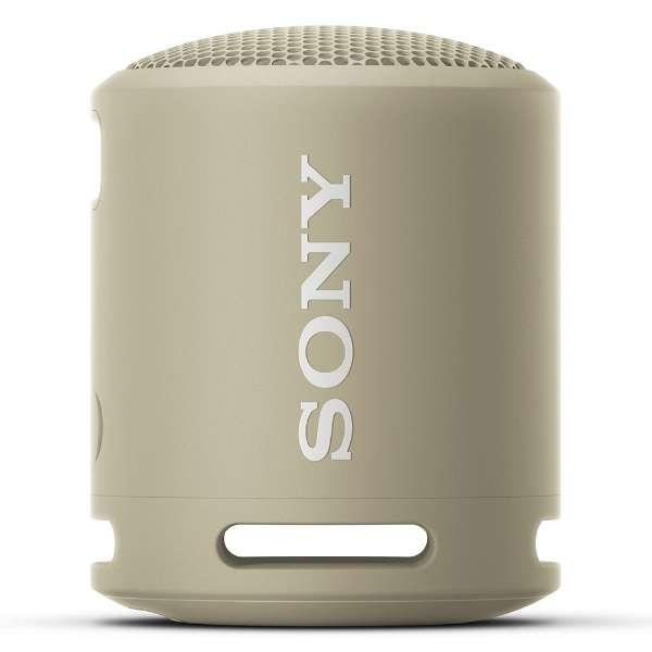 ブルートゥーススピーカー ベージュ SRS-XB13 CC [防水 /Bluetooth対応] 【10月28日9時までお買い得】