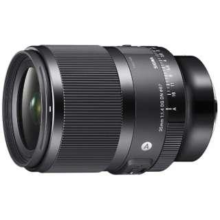 カメラレンズ 35mm F1.4 DG DN Art [ソニーE /単焦点レンズ]