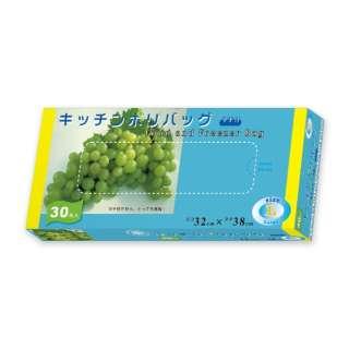キッチンポリバッグマチ付 L 半透明 30P CS-BL-30