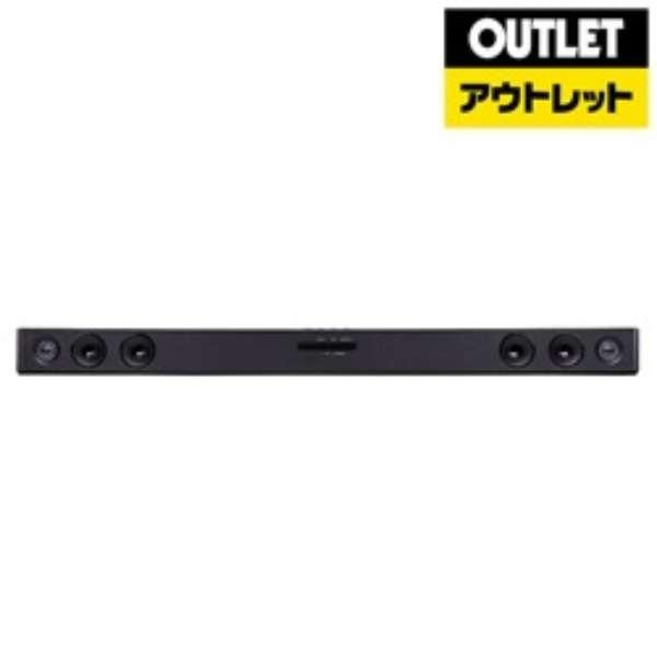【アウトレット品】 ホームシアター (サウンドバー) ブラック SK1D [フロント・バー /Bluetooth対応] 【外装不良品】