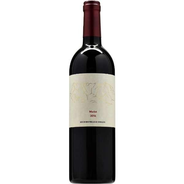 胎内高原ワイン メルロー 2016 750ml【赤ワイン】