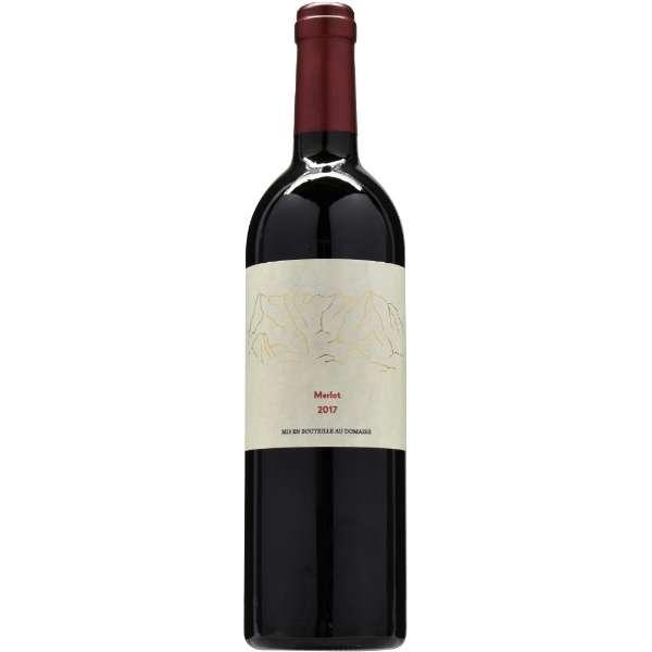 胎内高原ワイン メルロー 2017 750ml【赤ワイン】