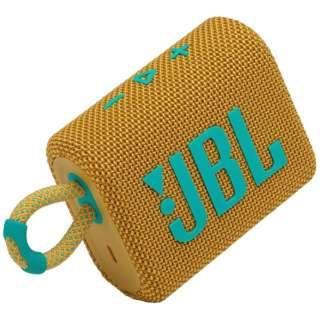 ブルートゥース スピーカー イエロー JBLGO3YEL [防水 /Bluetooth対応]
