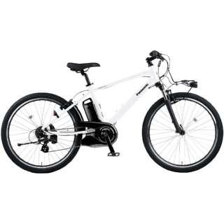 電動アシスト自転車 ハリヤ Hurryer クリスタルホワイト BE-ELH442F [26インチ /7段変速] 【2021年モデル】【組立商品につき返品不可】