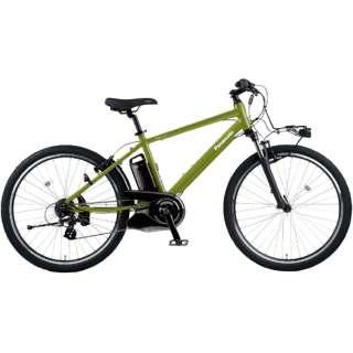電動アシスト自転車 ハリヤ Hurryer グラスグリーンビター BE-ELH442G [26インチ /7段変速] 【2021年モデル】【組立商品につき返品不可】