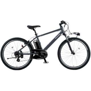 電動アシスト自転車 ハリヤ Hurryer マットグレイッシュネイビー BE-ELH442V2 [26インチ /7段変速] 【2021年モデル】【組立商品につき返品不可】