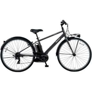 電動アシスト自転車 ベロスター VELOSTAR ミッドナイトブラック BE-ELVS773B [700C(スポーツ) /7段変速] 【2021年モデル】【組立商品につき返品不可】