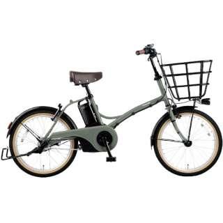 電動アシスト自転車 グリッター GLITTER マットオリーブ BE-ELGL034G [20インチ /3段変速] 【2021年モデル】【組立商品につき返品不可】