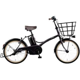 電動アシスト自転車 グリッター GLITTER ダークレッドローズ BE-ELGL034R [20インチ /3段変速] 【2021年モデル】【組立商品につき返品不可】