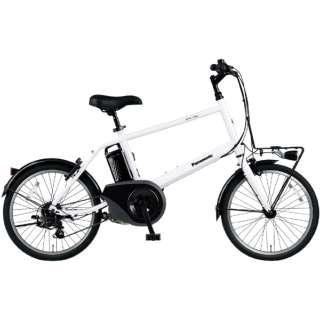 電動アシスト自転車 ベロスターミニ VELO-STAR MINI クリスタルホワイト BE-ELVS073F [20インチ /7段変速] 【2021年モデル】【組立商品につき返品不可】