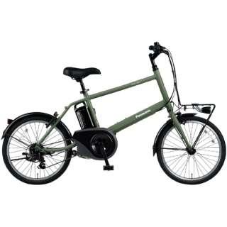 電動アシスト自転車 ベロスターミニ VELO-STAR MINI マットオリーブ BE-ELVS073G [20インチ /7段変速] 【2021年モデル】【組立商品につき返品不可】