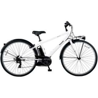 電動アシスト自転車 ベロスター VELOSTAR クリスタルホワイト BE-ELVS773F [700C(スポーツ) /7段変速] 【2021年モデル】【組立商品につき返品不可】