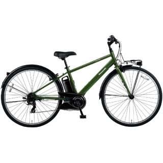 電動アシスト自転車 ベロスター VELOSTAR グリーン BE-ELVS773G [700C(スポーツ) /7段変速] 【2021年モデル】【組立商品につき返品不可】