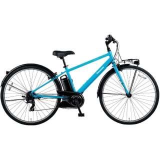 電動アシスト自転車 ベロスター VELOSTAR フラットアクアブルー BE-ELVS773V [700C(スポーツ) /7段変速] 【2021年モデル】【組立商品につき返品不可】