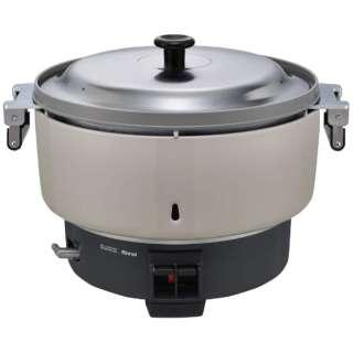 業務用ガス炊飯器 8.0L(4升)タイプ 内釜フッ素仕様  都市ガス(13A)Φ13用ゴム管接続 リンナイ RR-400CF [4升]
