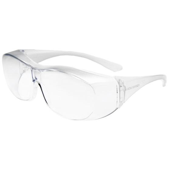 【保護メガネ】アイケアグラス オーバーグラス Sサイズ(クリア)EC-08 C1