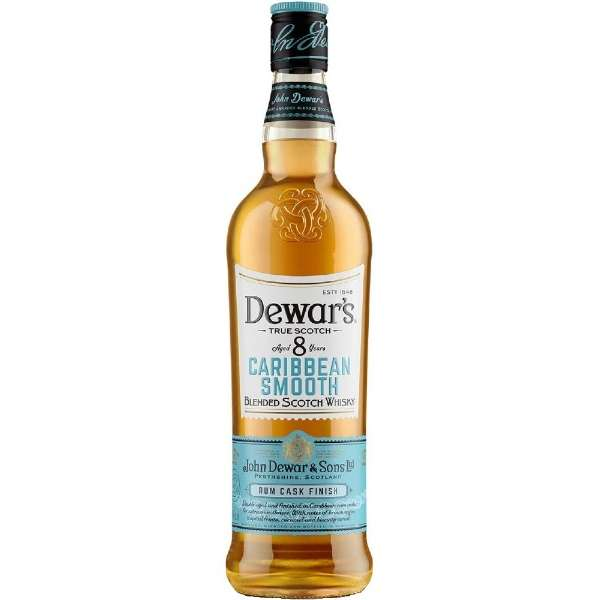 [数量限定] デュワーズ カリビアンスムース 8年 40度 700ml【ウイスキー】