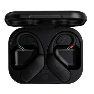 2PIN(0.78mm)イヤホン用Bluetoothアダプター ブラック FIOUTWS32P