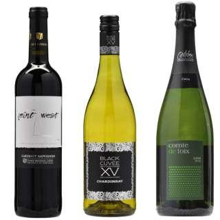 [ネット限定] 国内大手航空会社も採用した 高コスパワイン飲み比べ 750ml 3本【ワインセット】