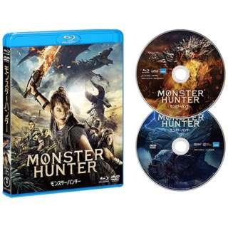 【先着予約購入特典付き】 『映画 モンスターハンター』Blu-ray&DVDセット 【ブルーレイ+DVD】