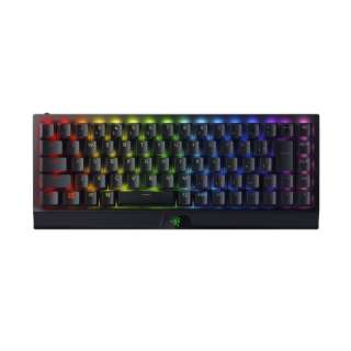 ゲーミングキーボード BlackWidow V3 Mini HyperSpeed JP - Green Switch ブラック RZ03-03891700-R3J1 [有線・ワイヤレス /Bluetooth・USB]
