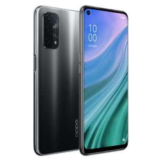 OPPO A54 5G シルバーブラック「CPH2303BK」Snapdragon 480 5G 6.5型 メモリ/ストレージ: 4GB/64GB nanoSIM+nanoSIM DSDV対応 ドコモ/au/Rakuten/Y!mobileSIM対応 SIMフリースマートフォン