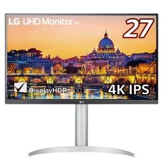 PCモニター LG UHD Monitor 4K ホワイト 27UP650-W [27型 /4K(3840×2160) /ワイド]