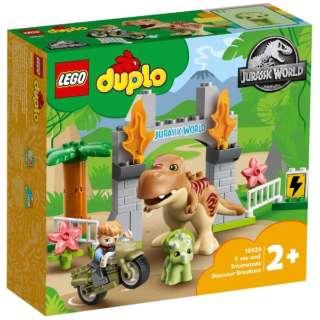 LEGO(レゴ) 10939 T-レックスとトリケラトプスの大だっそう