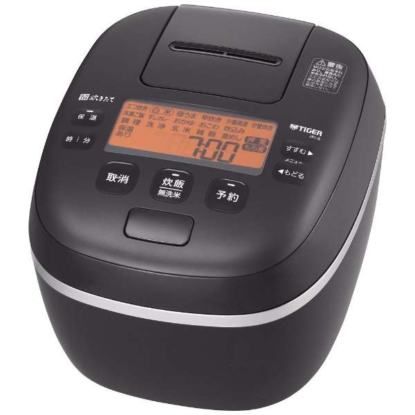 炊飯器 ミネラルブラック JPI-G100KL [5.5合 /圧力IH]
