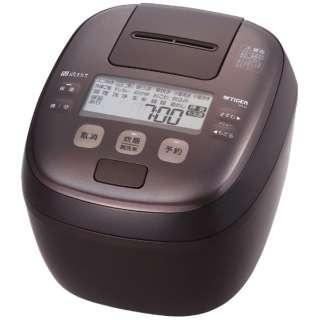 炊飯器 ダークブラウン JPI-H100TD [5.5合 /圧力IH]