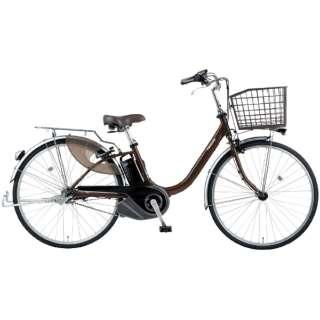 電動アシスト自転車 ビビ・L・押し歩き チョコブラウン BE-ELLW63T [26インチ /3段変速] 【2021年モデル】【組立商品につき返品不可】