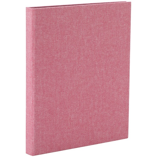 コット ポケットアルバム ハーフサイズプリント 縦向き80枚 ピンク