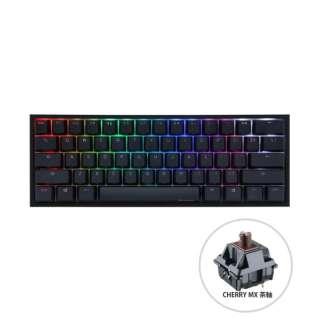 ゲーミングキーボード One 2 Mini RGB 60% version 茶軸(英語配列) dk-one2-rgb-mini-brown [有線 /USB]