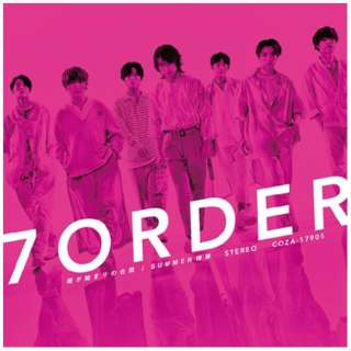 7ORDER/ 雨が始まりの合図/SUMMER様様 通常盤 【CD】