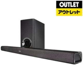 【アウトレット品】 ホームシアター (サウンドバー) ブラック DHTS316K [2.1ch /Bluetooth対応] 【外装不良品】