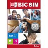 【無料Wi-Fi付】BIC SIM ギガプランパッケージ(音声/SMS/データ共通)