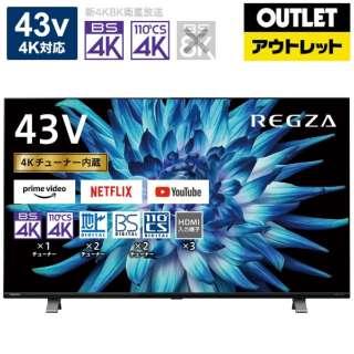 液晶テレビ REGZA(レグザ) 43C350X(R) [43V型 /4K対応 /BS・CS 4Kチューナー内蔵 /YouTube対応]