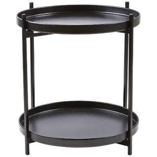アンティークメタルトレーテーブル D40×H45cm 341039