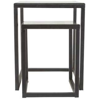 アンティークメタルテーブル 大小2台セット 341133